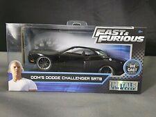 Fast & Furious Dom's Dodge Challenger SRT8 Collectors Series Diecast 1:32 Scale