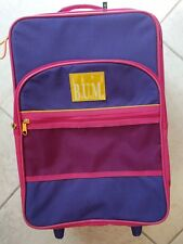Li'l BUM Carry-on Rolling Suitcase Luggage Bag 17 x 12 Kids. Rare Vintage