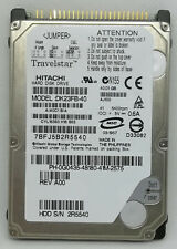 "Hitachi Dk23Fb-40 A/A0C1 Aj100 B/A 2.5"" 40.01Gb Hdd Free Us Shipping Tests Good"