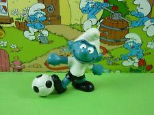 20068 Football Smurf Smurfs Schlümpfe Peyo 1 W.Germany Bully Mustard Dot