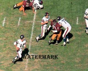 NFL 1968 New York Giants HOF Fran Tarkenton Game Action Color 8 X 10 Photo