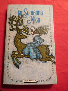 Vtg Rare 1969 Greeting Card Book Self Mailer The Snow Queen and Other Tales 1st