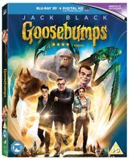 Goosebumps - Blu-ray 3d 2016 DVD Region 2