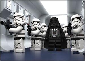 Lego Star Wars Vader Trooper Large Poster Art Print A0 A1 A2 A3 A4 Maxi