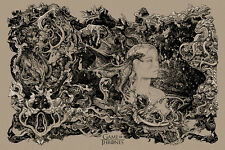 Vania Zouravliov GAME OF THRONES Poster by Mondo Bown Edition