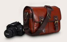PU Leather DSLR Shoulder Camera Bag Case For SONY Alpha A68 A77 II A99 II
