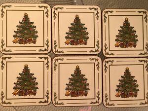 Pimpernel Untersetzer, Coasters, Weihnachten, 6 Stück