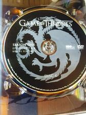 Game of Thrones Season 1 disc 4 Replacement Disc DVD ONLY