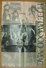 Fleetwood Mac Greatest Hits 1988 us Promo Poster Stevie Nicks Buckingham McVie