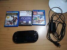Sony PlayStation Vita Slim Wi-Fi  PCH-2001 - 3 games included