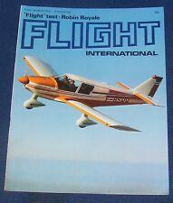 FLIGHT INTERNATIONAL MARCH 16 1972 - FLIGHT TEST: ROBIN ROYALE