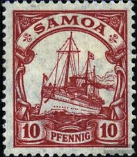 Samoa (German. Colony) 22 unmounted mint / never hinged 1900 Ship Imperial Yacht