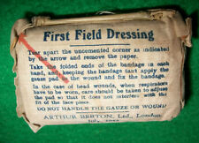 GB WW2 - PETIT EQUIPEMENT - PANSEMENT FIRST AID DRESSING