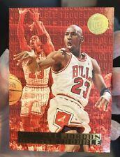 Michael Jordan 1995/96 Fleer Ultra Double Trouble - GOLD MEDALLION VERSION! #3
