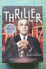 Thriller: The Complete Series (DVD, 2010, 14-Disc Set) Brand New
