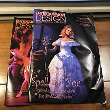 February & April 2004 Entertainment Design Magazine Wicked & Wonderful Town