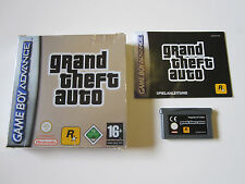 GTA Grand Theft Auto in OVP CIB - Nintendo GameBoy Advance / DS