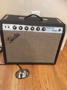 Fender Princeton Reverb. Silverface Vintage. Great Condition
