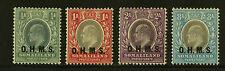 Somaliland Protectorate   1904  Scott # O11-O14   Mint Lightly Hinged Set