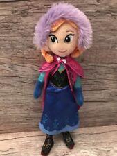 NICOTOY ANNA Walt Disney Die Eiskönigin Frozen Plüsch 33 cm Puppe Stoffpuppe Rar