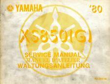 Yamaha XS850 XS850(G) 1980 Service Manual 4F2-28197-80
