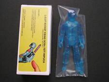 Custom Vintage Star Wars Holographic Clear Blue Rocket Firing Boba Fett