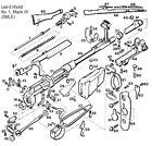 British Lee Enfield No1 Mk3 Smle Rifle - Components - Parts Catalog - Ishapore