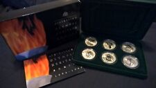 1994 TO 1996 TEN DOLLAR SILVER 6 COIN SET *AUSTRALIA'S OLYMPIC HERITAGE SERIES*
