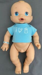Baby Alive BOY MALE Wets And Wiggles 2006 RARE Toy Hasbro