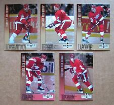 Detroit Red Wings 1997 Stanley  Cup Teamset - Upper Deck Black Diamond !
