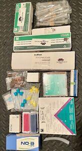 Lightly used Misc Dental supplies- dispensing syringe, wax, brushes etc