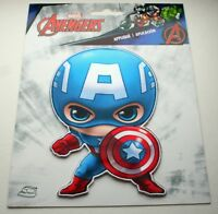 Official Marvel Comics Kawaii Large Captain America Cloth Jacket Patch New 2016