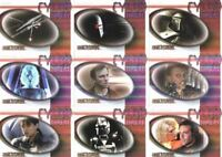 Battlestar Galactica Premiere Edition Cylon Threat Chase Card Set 9 Cards