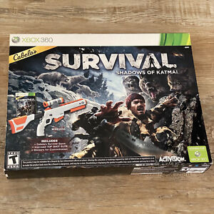 Cabelas Survival: Shadows of Katmai with Top Shot Elite Gun & Game - Xbox 360