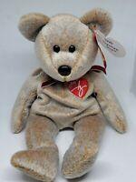 Beanie Babies Ty Original Baby 1999 Signature Bear - Retired