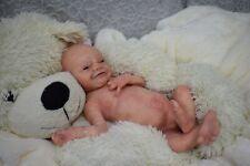 "Full Body Soft Solid boy  PREMATUR15""Silicone Baby doll/REBORN SILICONA"