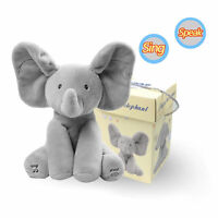 Peek-a-boo Lovely Elephant with Music Baby Pal Animated Flappy The Elephant Toy