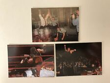 "2000 WWE/WWF COMIC IMAGES ""NO MERCY"" 3 WRESTLING FOIL PROMO CARD SET - NEW COND"
