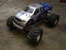 Traxxas truck with controller little use nitro