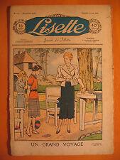 LISETTE N° 11 du 13/03/1938 -18 ème année -éditions de Montsouris