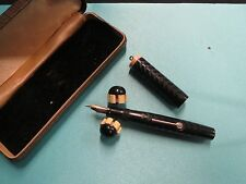 Cool! c1920 University Harris & Co Fountain Pen with Matching Pen Rest