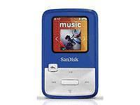 SanDisk Sansa Clip Zip Blue (4 GB) Digital Media Player - Blue