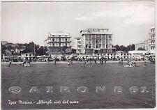 RIMINI BELLARIA IGEA MARINA 33 HOTEL ALBERGO Cartolina FOTOGRAF. viagg. 1965