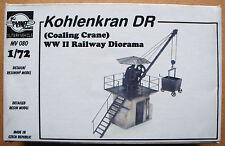 Planet Models mv080 WWII kohlenkran Imperio alemán tren resin kit en 1:72