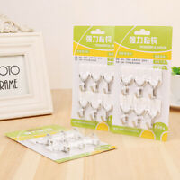 120pcs Wall Door House Home Plastic Small Self Adhesive Sticky Hook Hooks Holder