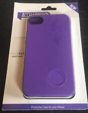 Brand New Accellorize iPhone 4/4S Protective Case PURPLE