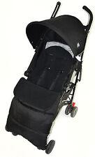 Footmuff For Maclaren Quest XLR Techno XT Volo BMW Triumph Cosy Toes