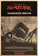 POSTER TANGERINE DREAM SORCERER cm 33X48 REWORKED REPRO IMAGE PERFECT TO FRAME