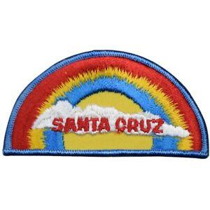 "Vintage Santa Cruz Patch - California, Surfing, Monterey Bay 3.75"" (Sew on)"