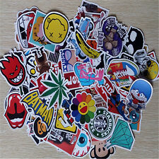 50Pieces Stickers Skateboard Sticker Graffiti Laptop Car Luggage Decals mix lot